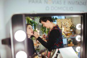 maquillaje y peluquería novia